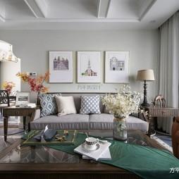 美式经典客厅沙发图