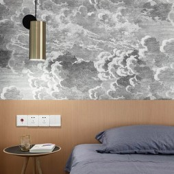 明朗现代简约风卧室吊灯图