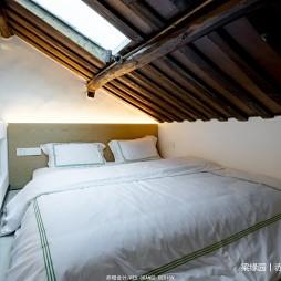 传统古朴民宿空间阁楼设计
