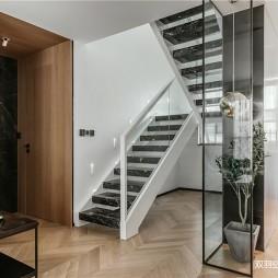 自然简约风楼梯设计图