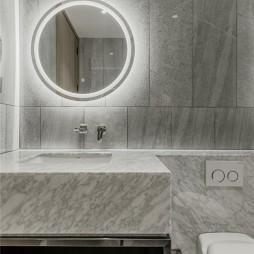 自然简约风卫生间洗手台设计