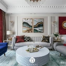 经典美式风客厅沙发设计