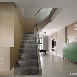 潮流混搭楼梯设计图