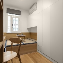 舒适日式风活动室设计