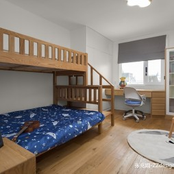 舒适日式风儿童房设计