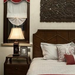 传统东南亚风卧室床头灯图