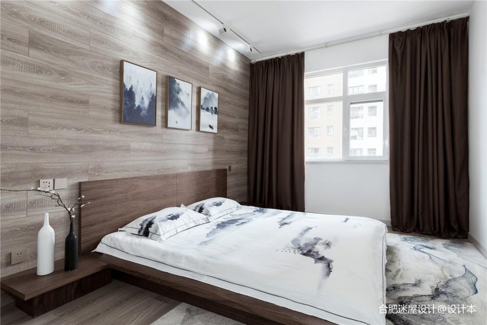 153㎡徽派中式风卧室设计