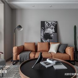 极简风客厅沙发图片