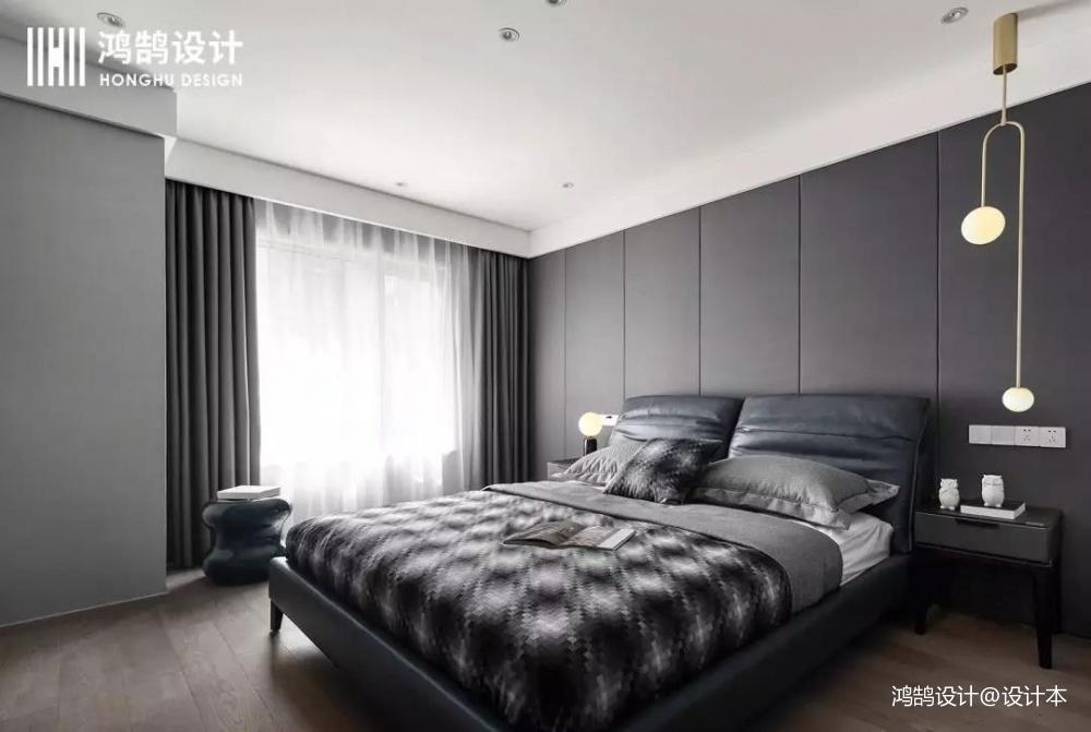 前卫现代风卧室设计图