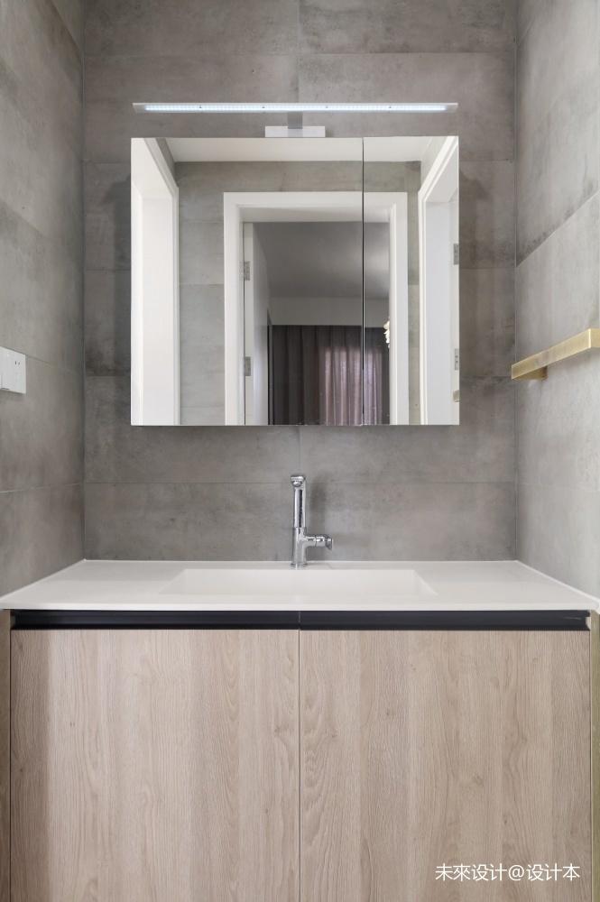 轻生活 | 现代风卫生间洗手台设计