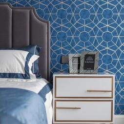 休闲美式卧室床头柜设计