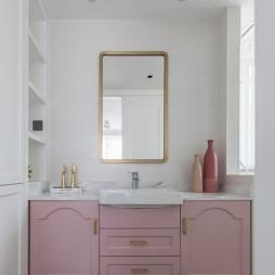 休闲美式洗手台设计