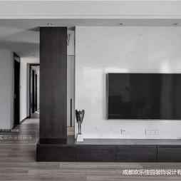 现代风异型客厅背景墙设计