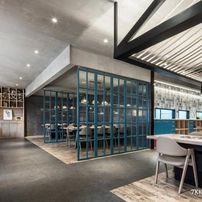 中式简约烤肉餐厅设计_3665988