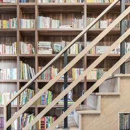 日式混搭书架