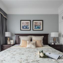 美式经典卧室美图