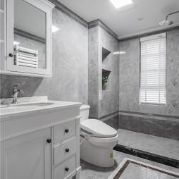 美式经典卫生间装修图