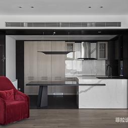 高级现代风开放式厨房
