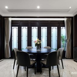 中式现代别墅-餐厅