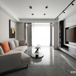 现代风格—客厅设计图