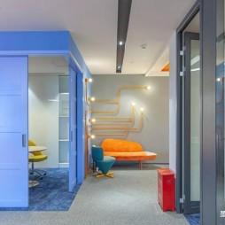 蓝橙办公室—室内图片