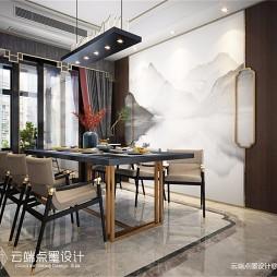 中式现代餐厅美图