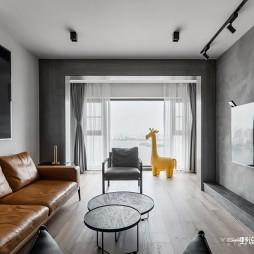 146m²潮流混搭—客厅图片