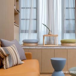 原木小屋—客厅图片
