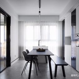 130平米现代简约—餐厅图片