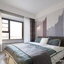 130平米现代简约—卧室图片