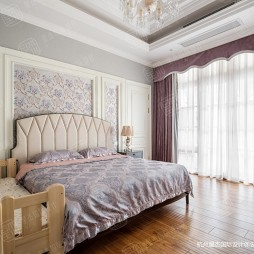 绿城蓝庭法式古典别墅设计—卧室图片