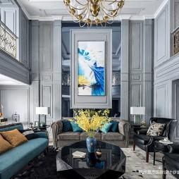 新古典混搭风格—客厅图片