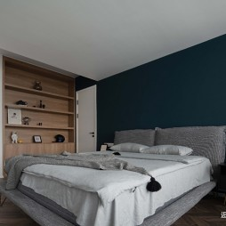 青年与猫—卧室图片