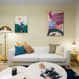 120平米美式经典——客厅图片