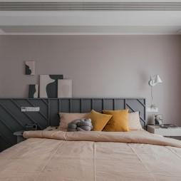 130平米现代简约:卧室图片