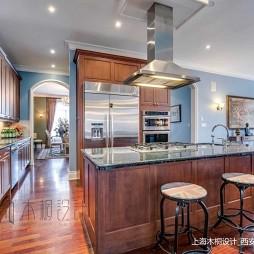 美式经典别墅豪宅—厨房图片