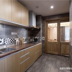 日式禅意空间—厨房图片