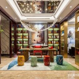 新中式风格别墅装修—功能区图片
