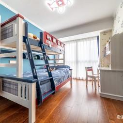 126平米现代简约—儿童房设计图