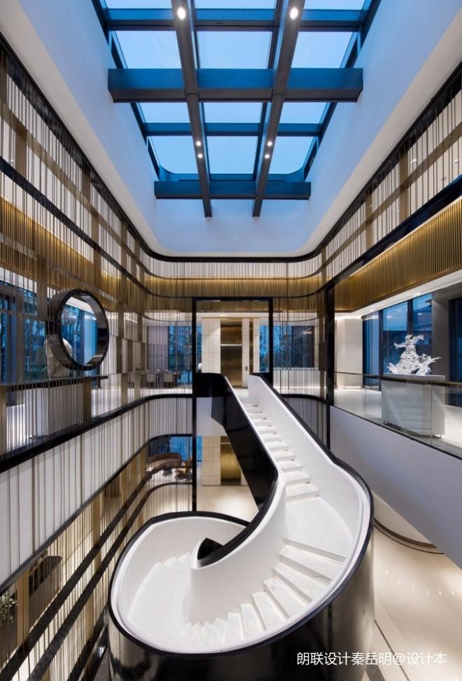 方圆:柳州华润幸福里会所——楼梯图片