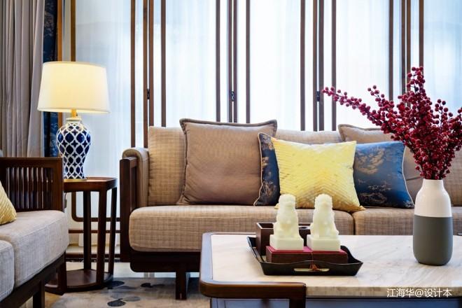 新中式别墅软装设计_3724002