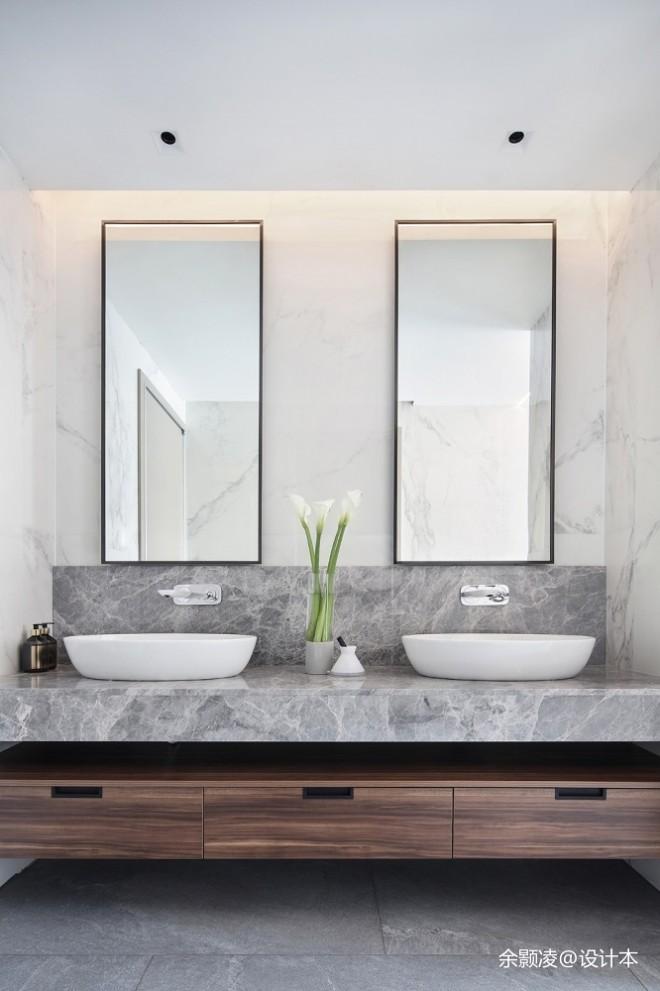 430平米现代简约——卫生间图片