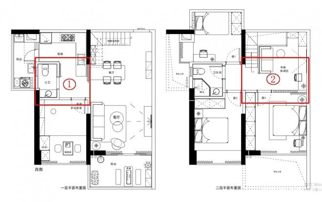 现代135平三代同堂之--暖暖的新家