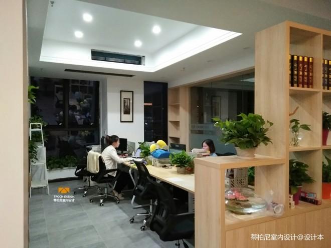 办公空间设计⎮蒂柏尼装饰设计室内实景