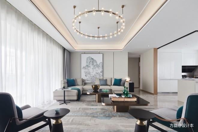 苏州常熟中南林樾香庭188 m2样板