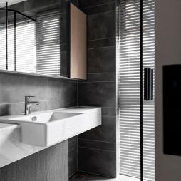 现代简约复式——卫生间图片
