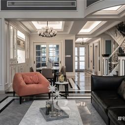 600平独栋别墅豪宅——客厅图片