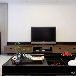 东棠设计-《晴 窗》——电视背景图