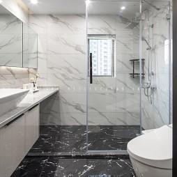 现代简约—窗明几净——卫生间图片