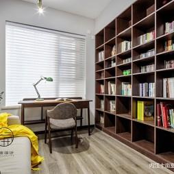 现代简约三居——书房图片